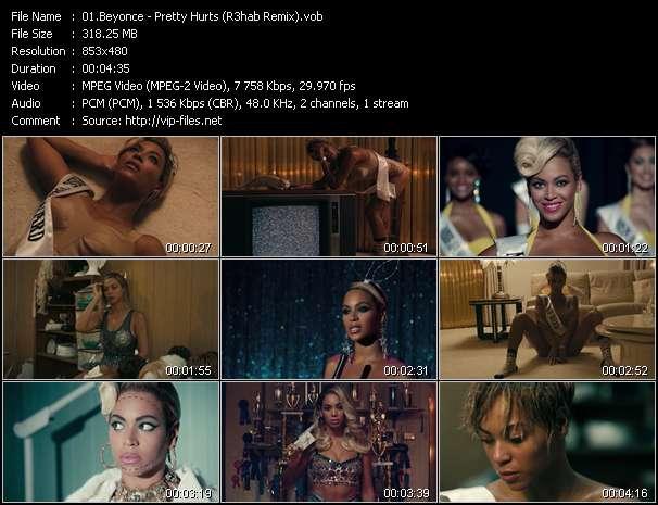 Beyonce HQ Videoclip «Pretty Hurts (R3hab Remix)»