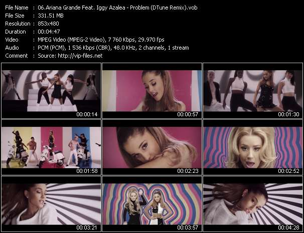 Ariana Grande Feat. Iggy Azalea music video Filejoker