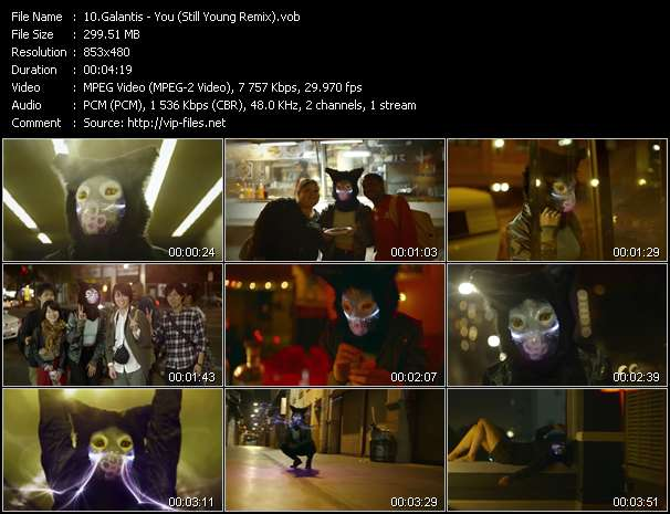 Galantis video - You (Still Young Remix)