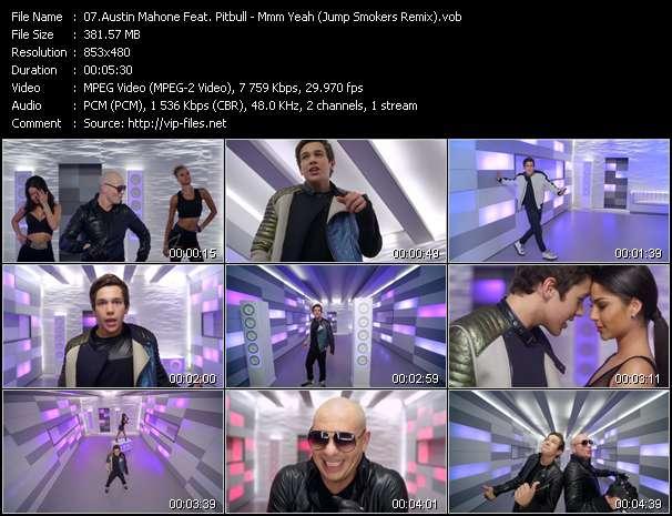 Austin Mahone Feat. Pitbull music video Filejoker