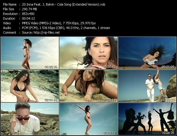 Inna Feat. J. Balvin HQ Videoclip «Cola Song (Extended Version)»