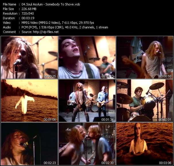 Soul Asylum video - Somebody To Shove
