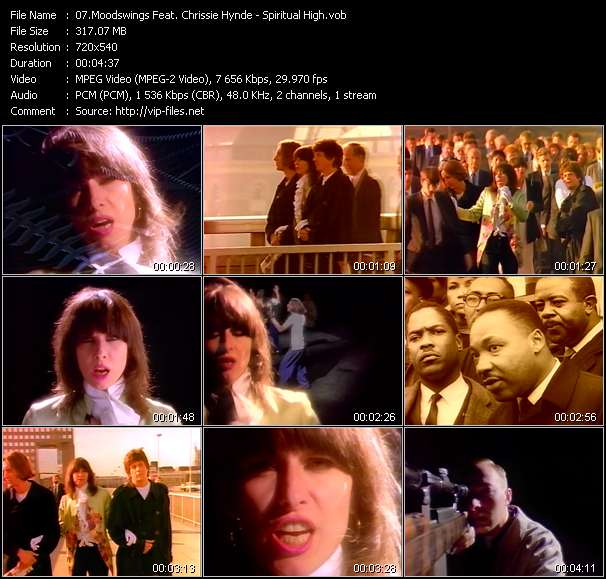 Moodswings Feat. Chrissie Hynde video - Spiritual High