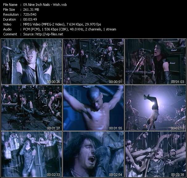 Nine Inch Nails video - Wish