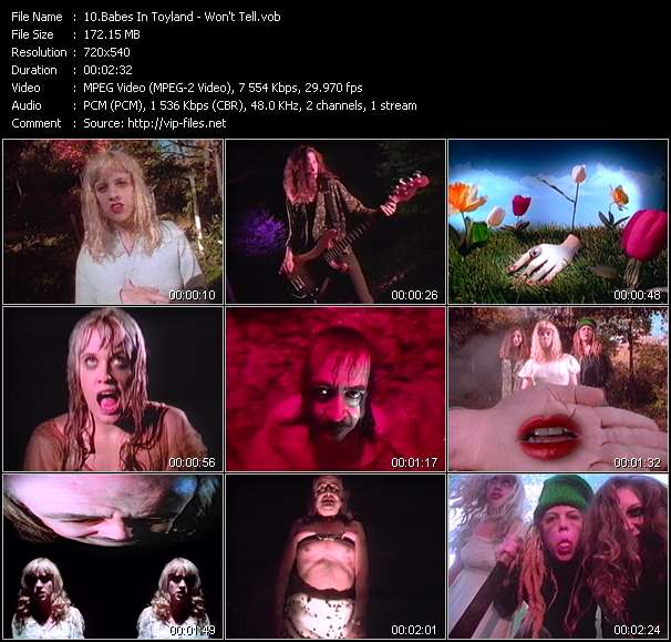 Babes In Toyland music video Filejoker