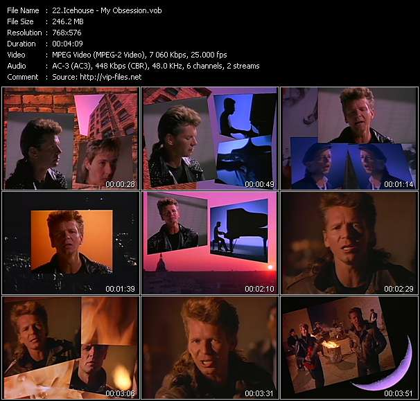 Icehouse HQ Videoclip «My Obsession»