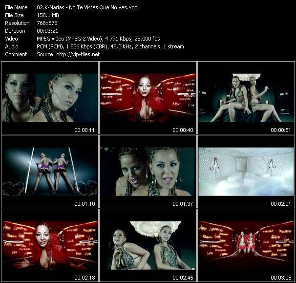 K-Narias video - No Te Vistas Que No Vas