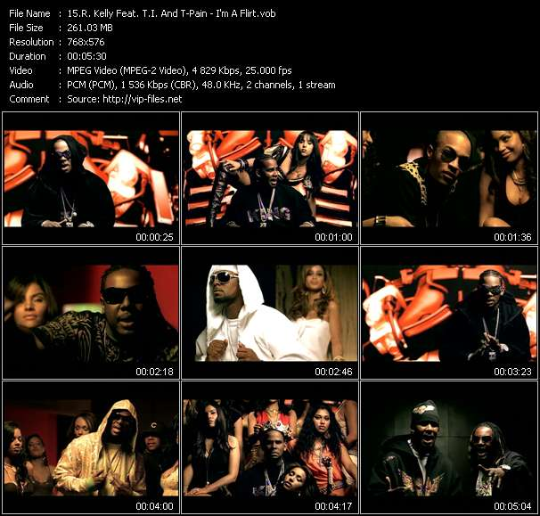 R. Kelly Feat. T.I. And T-Pain music video Publish2