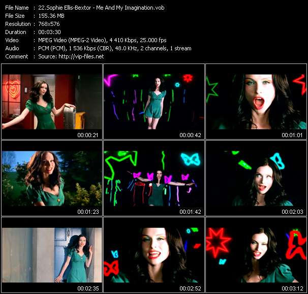Sophie Ellis-Bextor HQ Videoclip «Me And My Imagination»