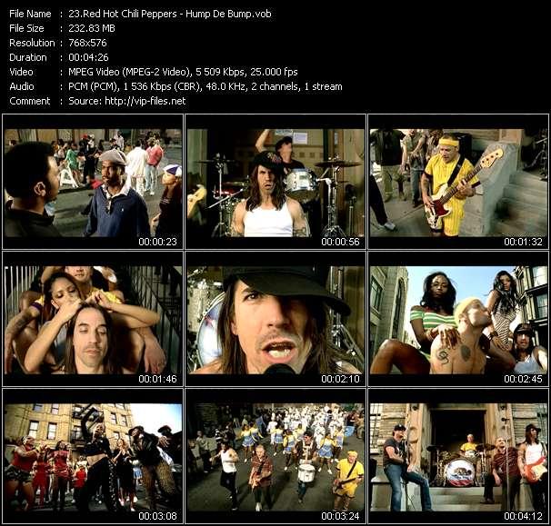 Red Hot Chili Peppers HQ Videoclip «Hump De Bump»