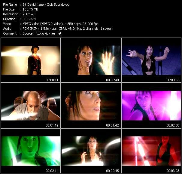 David Kane HQ Videoclip «Club Sound»