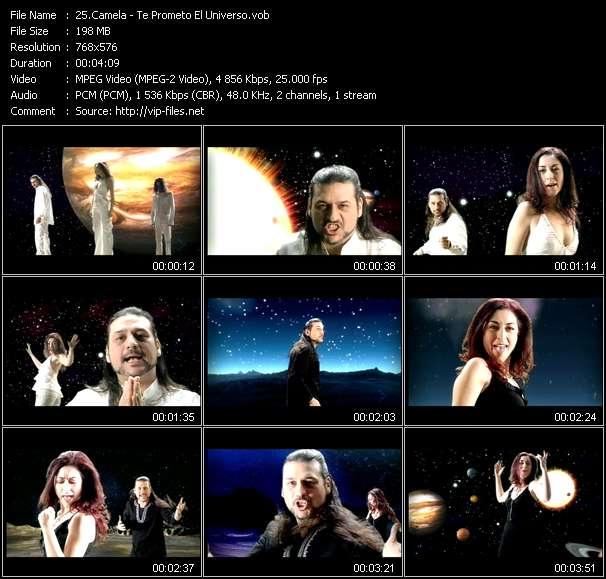 Camela HQ Videoclip «Te Prometo El Universo»