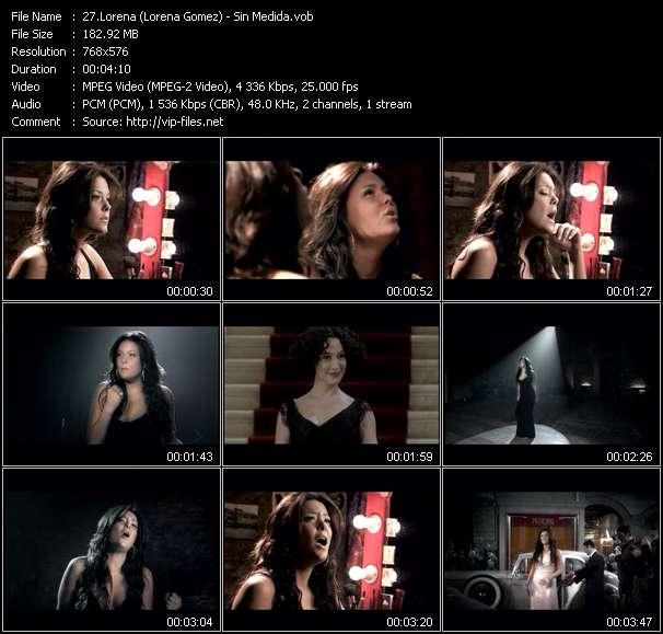 Lorena (Lorena Gomez) HQ Videoclip «Sin Medida»