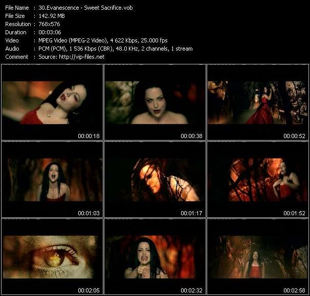 Evanescence HQ Videoclip «Sweet Sacrifice»