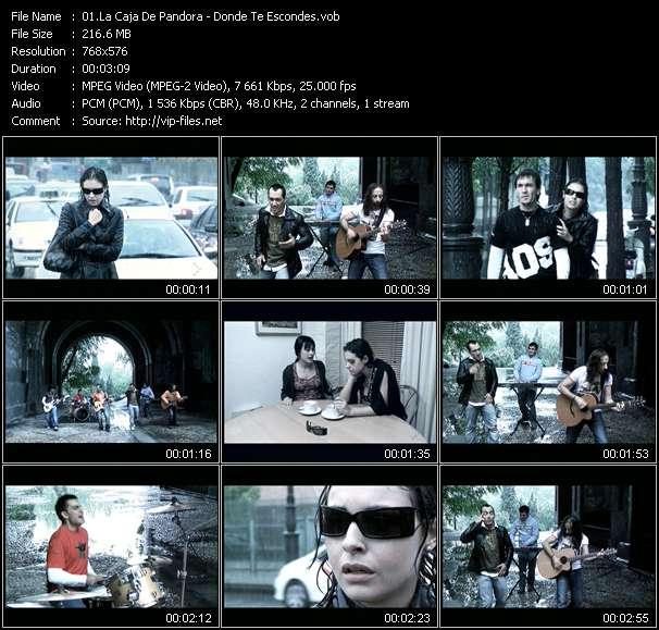 La Caja De Pandora music video Publish2