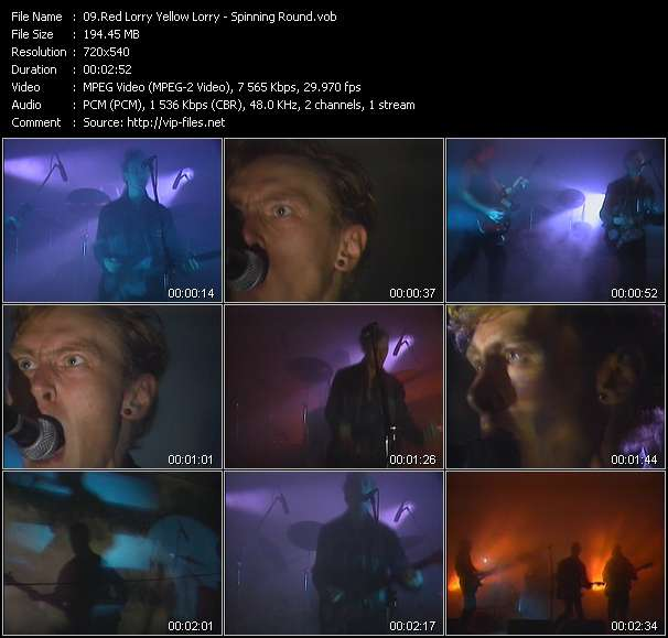 Red Lorry Yellow Lorry HQ Videoclip «Spinning Round»