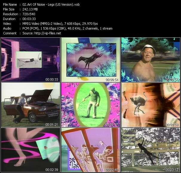 Art Of Noise HQ Videoclip «Legs (US Version)»
