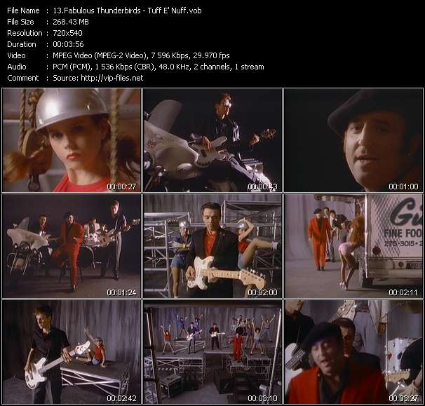 Fabulous Thunderbirds video - Tuff E' Nuff