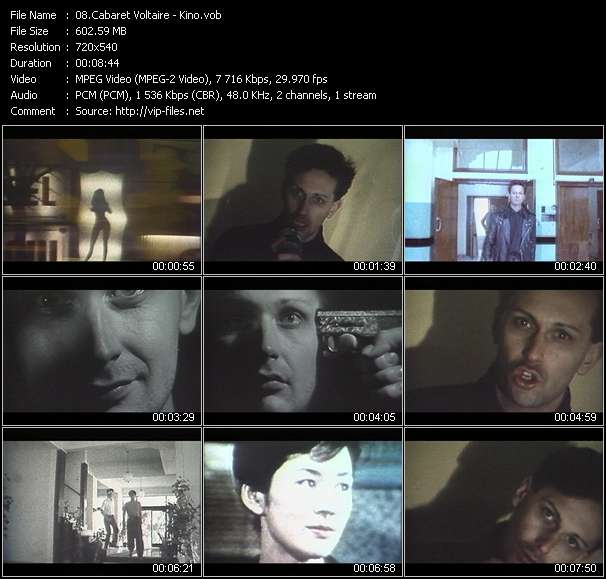 Cabaret Voltaire music video Publish2