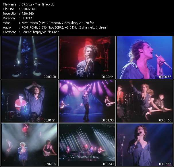 Inxs video - This Time