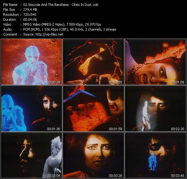 Siouxsie And The Banshees HQ Videoclip «Cities In Dust»