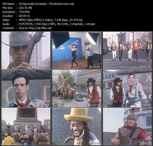 Big Audio Dynamite HQ Videoclip «The Bottom Line»