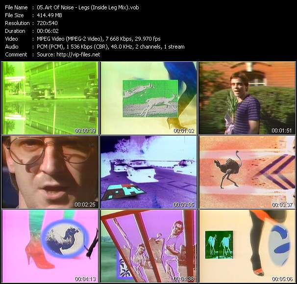 Art Of Noise HQ Videoclip «Legs (Inside Leg Mix)»