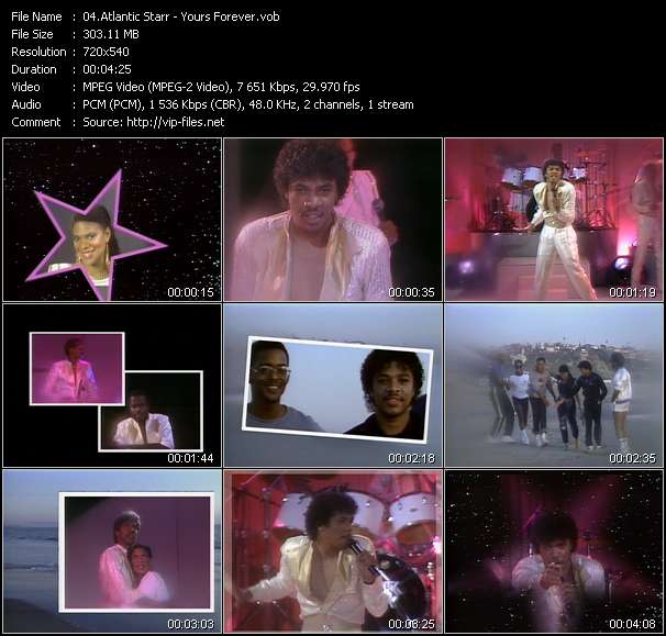 Atlantic Starr music video Filejoker