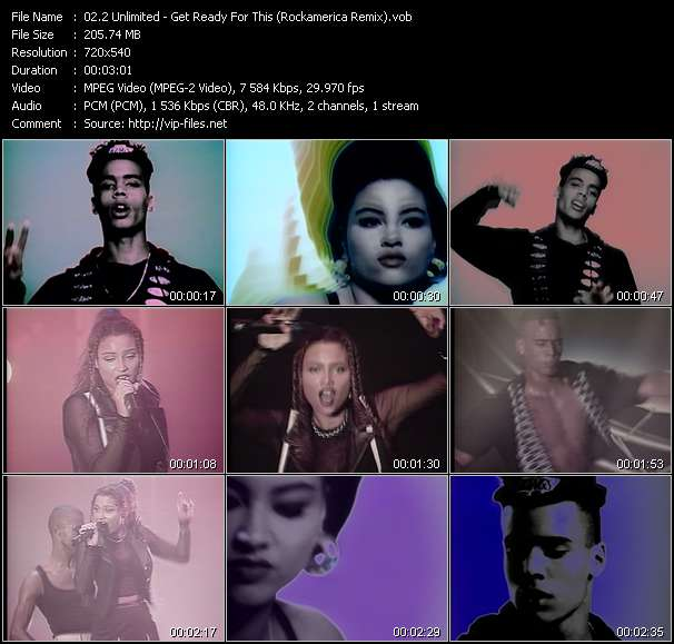 2 Unlimited music video Keep2share