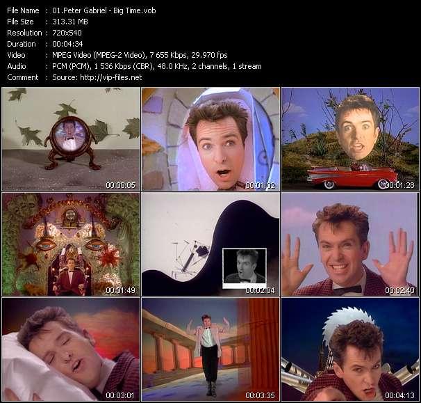 Peter Gabriel HQ Videoclip «Big Time»