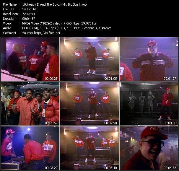 Heavy D And The Boyz HQ Videoclip «Mr. Big Stuff»