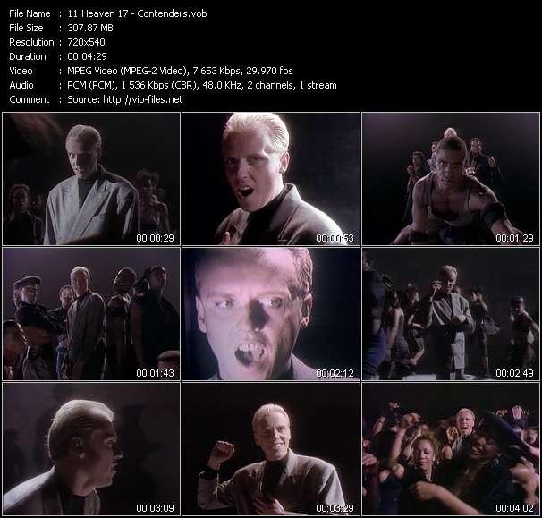 Heaven 17 HQ Videoclip «Contenders»