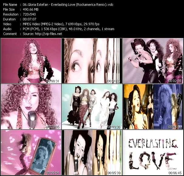 Gloria Estefan video - Everlasting Love (Rockamerica Remix)