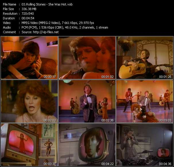 Rolling Stones video - She Was Hot