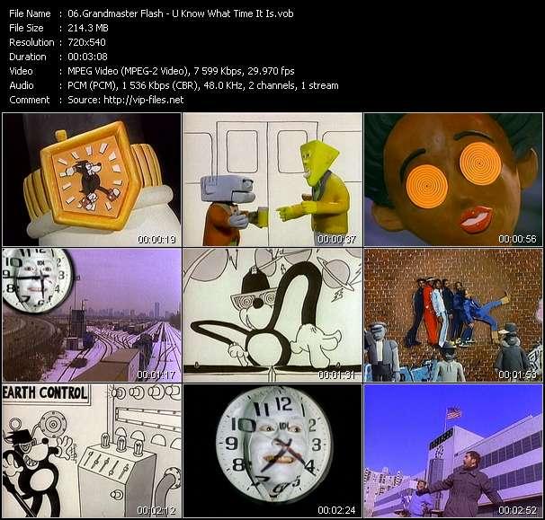 Grandmaster Flash HQ Videoclip «U Know What Time It Is»