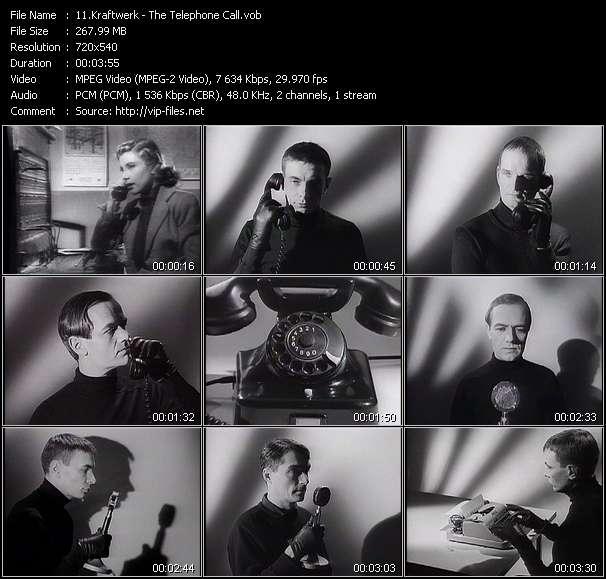 Kraftwerk HQ Videoclip «The Telephone Call»