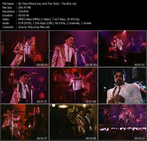 Time (Morris Day And The Time) HQ Videoclip «The Bird»