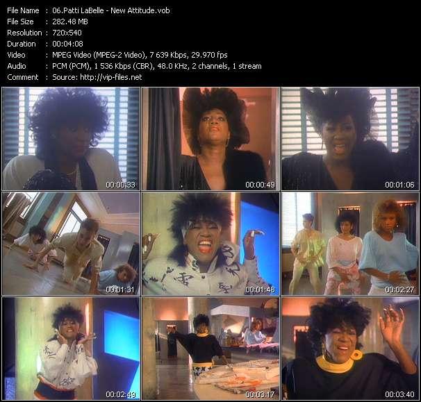 Patti LaBelle HQ Videoclip «New Attitude»