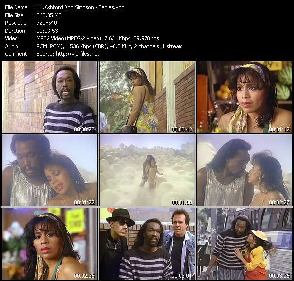 Ashford And Simpson HQ Videoclip «Babies»