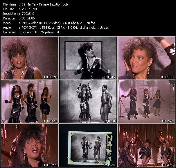 Mai Tai video - Female Intuition