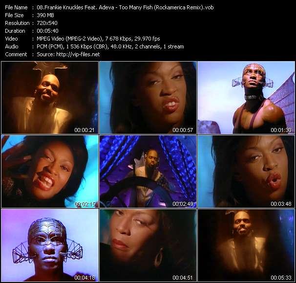 Frankie Knuckles Feat. Adeva video - Too Many Fish (Rockamerica Remix)