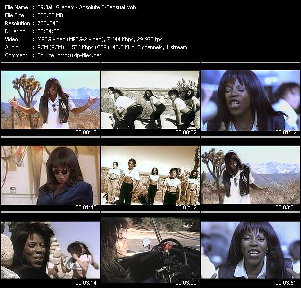 Jaki Graham video - Absolute E-Sensual