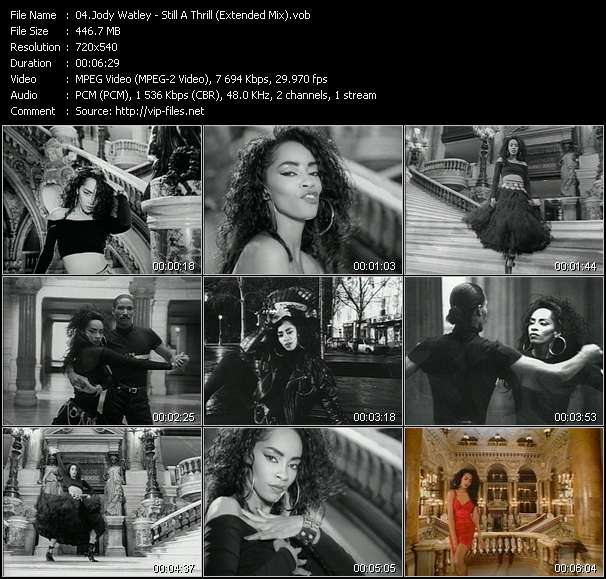 Jody Watley HQ Videoclip «Still A Thrill (Extended Mix)»