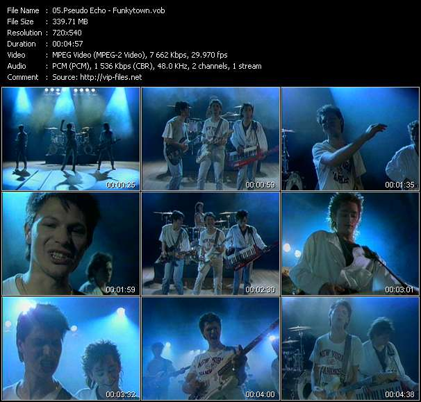 Pseudo Echo video - Funkytown
