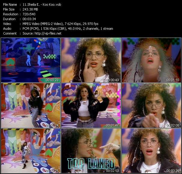 Sheila E. video - Koo Koo