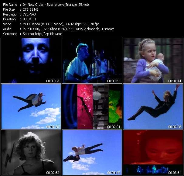 New Order video - Bizarre Love Triangle '95
