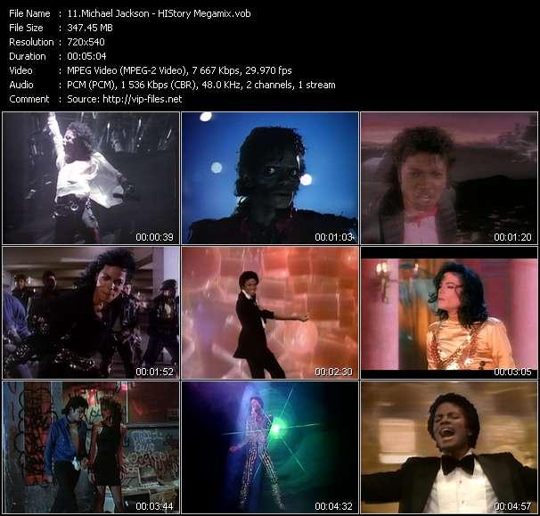 Michael Jackson video - HIStory Megamix