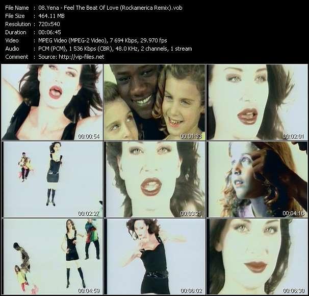 Yena HQ Videoclip «Feel The Beat Of Love (Rockamerica Remix)»