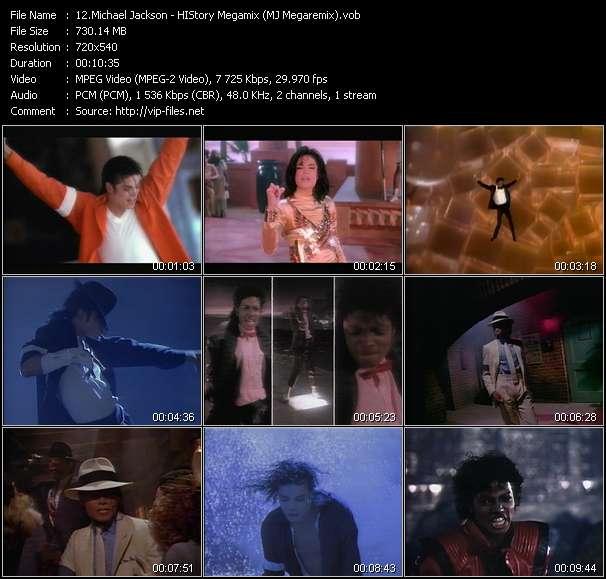 Michael Jackson HQ Videoclip «HIStory Megamix (MJ Megaremix)»