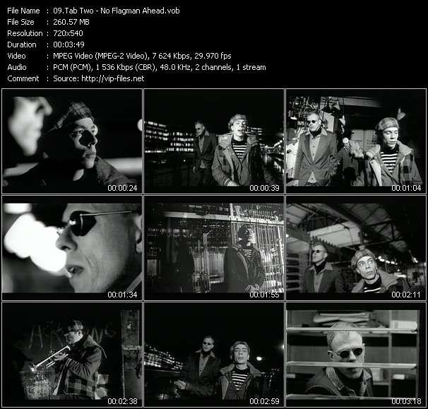 Tab Two HQ Videoclip «No Flagman Ahead»